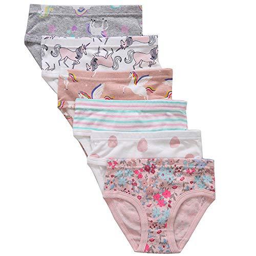 (The Kite Toddler Girls Underwear Cotton 6-Pack 3t 4t)
