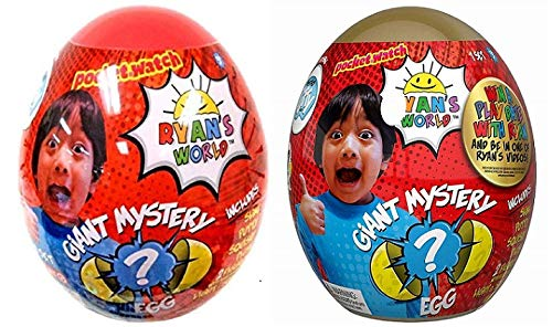 Ryan's World Giant Gold and Yellow Mystery Egg Bundle by Ryan's World (Image #3)