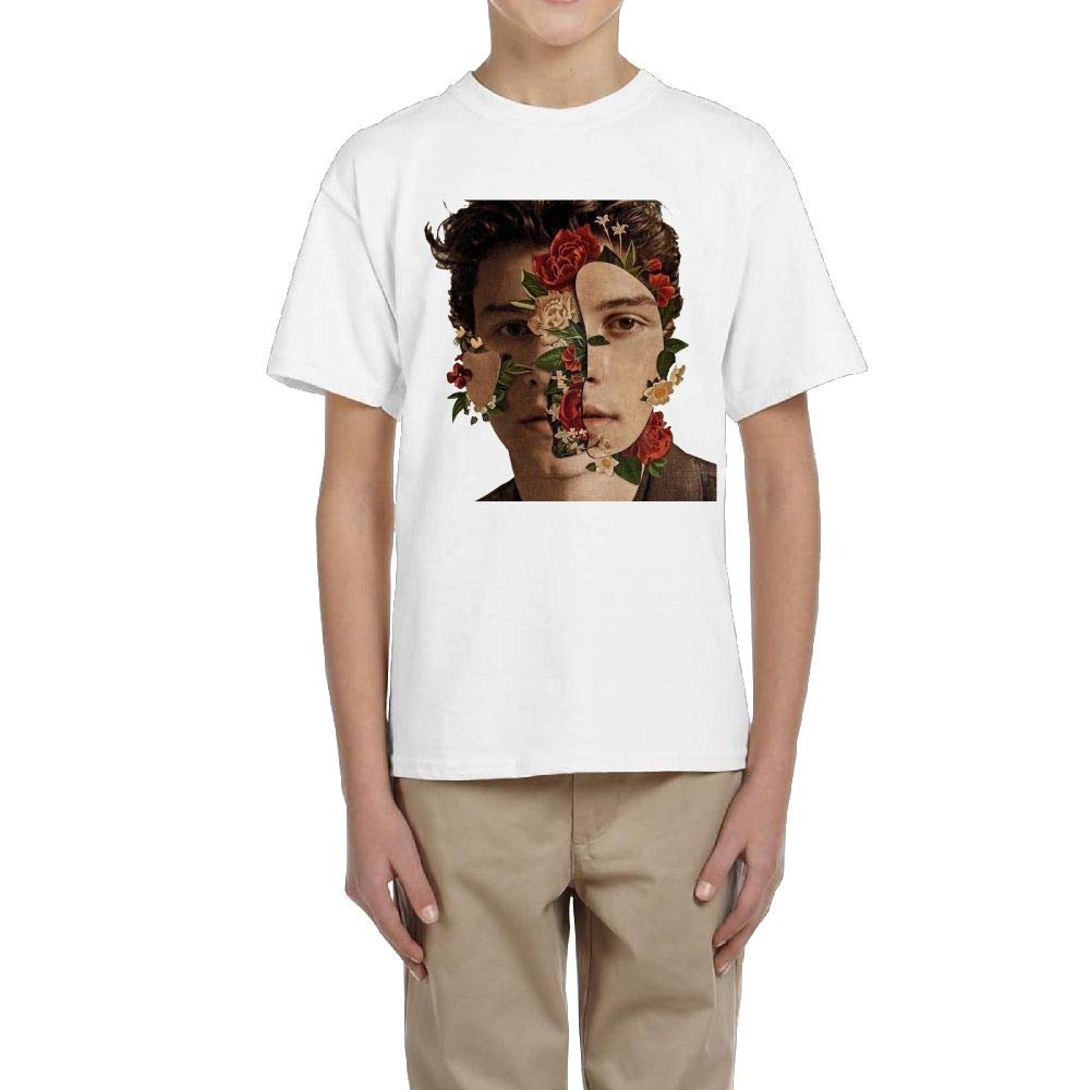 RobertJ.Rivera Young Shawn Mendes Summer Moisture Wicking Cotton Travel Short Sleeves Tee Shirt Gift L
