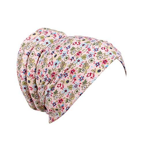 HYIRI Women Cancer Chemo Beach Golf Hat Beanie Scarf Turban Head Wrap -