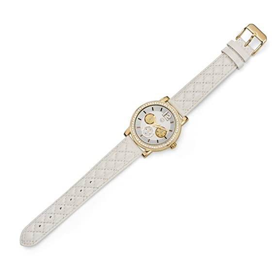Oliver Weber Reloj Murcia blanco Cristales de Swarovski