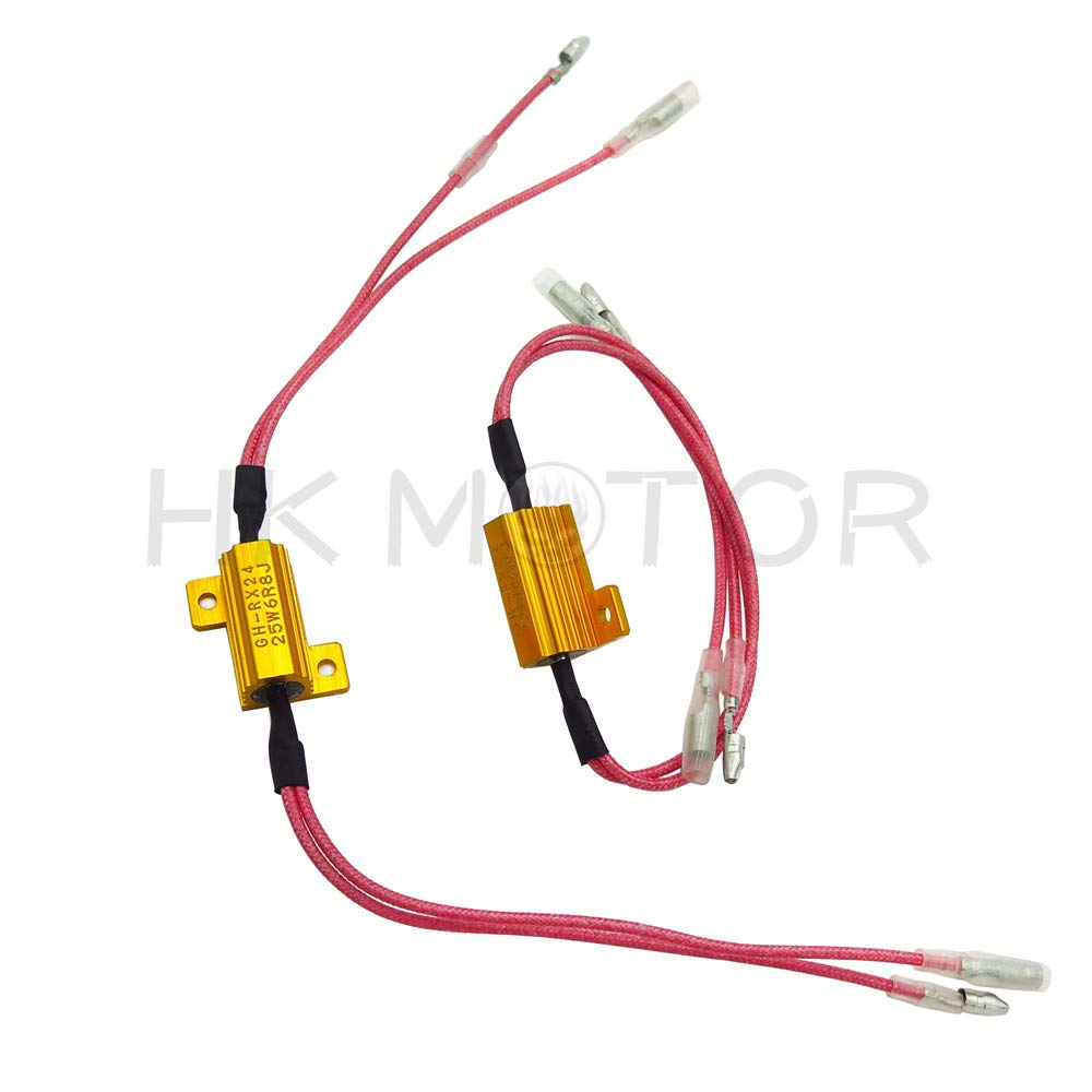 25W LED Flash Rate Controller Resistor for Honda CBR 929RR 954RR turn signal