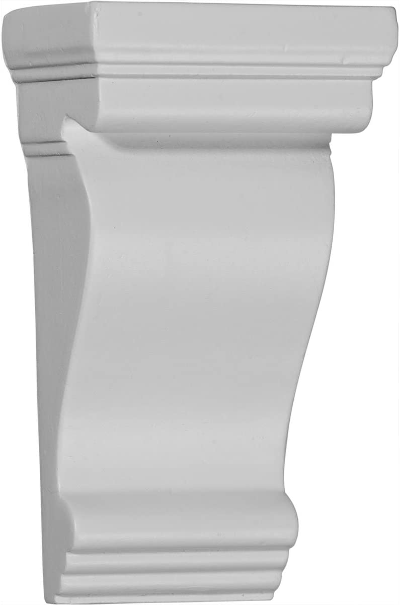 Ekena Millwork CORW03X02X06PAGM-CASE-4 Corbel Factory Primed