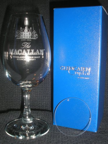 MACALLAN SCOTCH WHISKY GLENCAIRN COPITA NOSING GLASS by MACALLAN SINGLE MALT SCOTCH