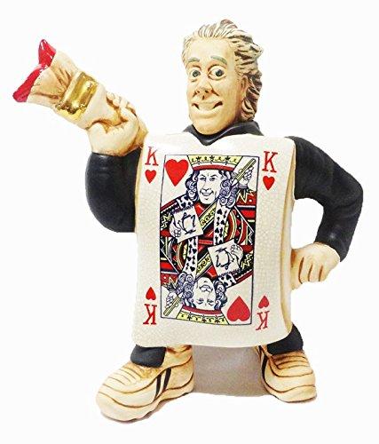 【CARDEW カデュー】 レア!KING OF ARTS ティーポット ハンドペインティング Sサイズ 1人用  英国製 ギフト プレゼント コレクター B06WRS78J2