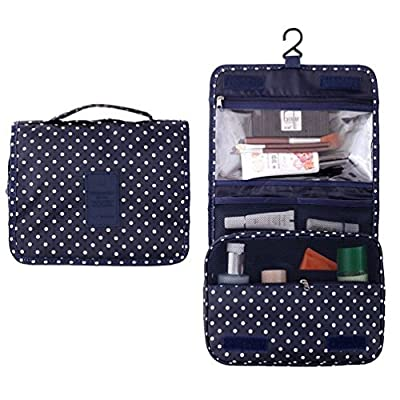 Best Cheap Deal for Fantasy Portable Travel Hanging bag with hook / Toiletry Organizer Cosmetic Bag For Women by Fantasy - Free 2 Day Shipping Available