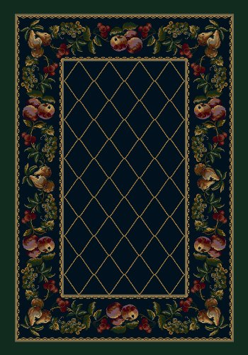 Milliken Signature Collection Fruit Medley Rectangle Area Rug, 5'4