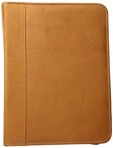 (Piel Leather Three-Ring Binder Sd, Saddle)