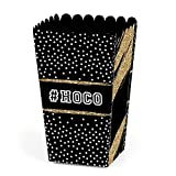HOCO Dance - Homecoming Favor Popcorn Treat Boxes - Set of 12