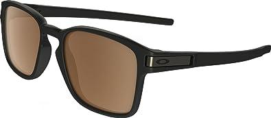 Oakley Latch Squared >> Amazon Com Oakley Latch Squared Polarized Rectangular Sunglasses