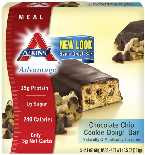 Atkins, Advantge Bar, C/C Cookie 5/2.1 Oz