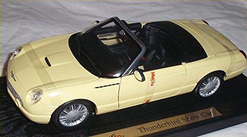 Maisto 1/18 Scale Diecast - 31866 Ford Thunderbird Show car yellow B002PNJXOE
