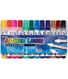Mungyo White Board Markers MA-12A (Pack of 12 Colours) - Assorted Shades