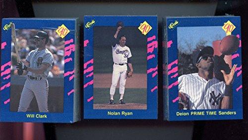 1990 90 Classic Game Baseball Card Complete Blue Set Nolan