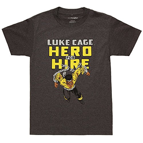 Marvel Luke Cage Hero for Hire Adult T-Shirt