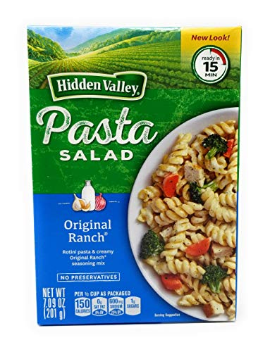 Hidden Valley Pasta Salad - Original Ranch -7.090z- Pack of 3 ()