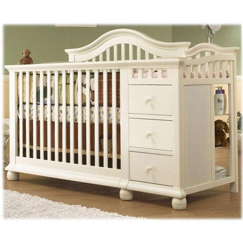 Superieur Amazon.com : Sorelle Cape Cod Crib And Changer   French White : Changing  Tables : Baby
