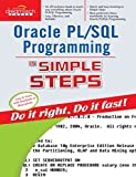 img - for Oracle Pl/Sql Programming in Simple Steps by Learning Solutions Kogent (2008-12-01) book / textbook / text book