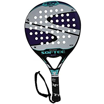 Softee 0013918 Pala Padel Hidra Carbón, Blanco, S: Amazon.es ...