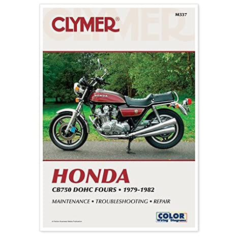 amazon com clymer manual honda cb750 dohc 79 82 m337 pu m337 rh amazon com 1982 Honda CB750SC Nighthawk 1982 honda nighthawk 750 repair manual
