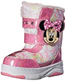 Disney Minnie C/W Boot (Toddler/Little Kid), White/Pink, 10 M US Toddler