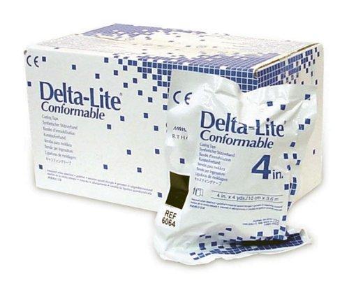 BSN Medical 6064 Delta-Lite Conformable Fiberglass Cast Tape, 4