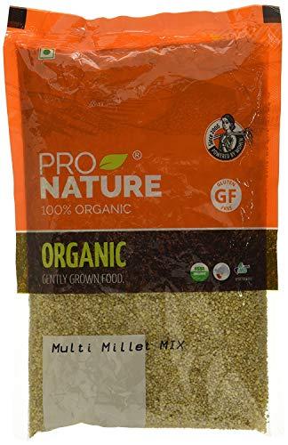 Pro Nature 100% Organic Multi Millet Mix, 500 g by Hindustan Mart