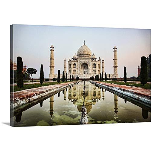 Scott Stulberg Premium Thick-Wrap Canvas Wall Art Print entitled India Taj Mahal 36''x24'' by Canvas on Demand
