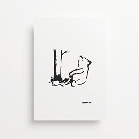 Vinyl Revolution Banksy Panda Gicl/ée
