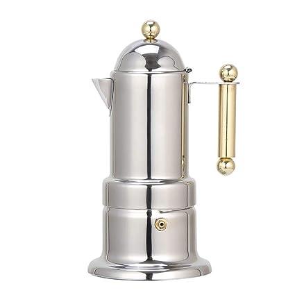 Amazon.com: Cafetera manual, máquina de café espresso gruesa ...