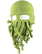 GIVBRO Octopus czapka beanie damska, męska, ciepła czapka z daszkiem, 1 sztuka