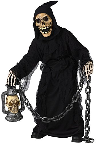 Kids-Costume Grave Ghoul Child 8-10 Halloween Costume - Child (Grave Ghoul Child Costumes)