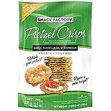 Snack Factory Pretzel Crisp Pretzel Crisps, Garlic Parmisan, 200g