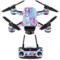 Skin for DJI Spark Mini Drone Combo - In Bloom| MightySkins Protective, Durable, and Unique Vinyl Decal wrap cover | Easy To Apply, Remove, and Change Styles | Made in the USA