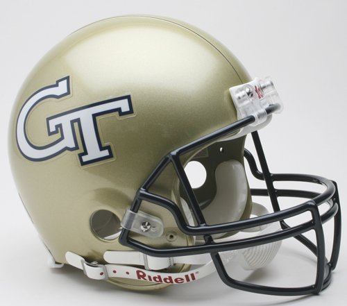 Victory Collectibles 3000332 Rfa C Georgia Tech - Yellow Jackets Full Size Authentic Helmet by Riddell
