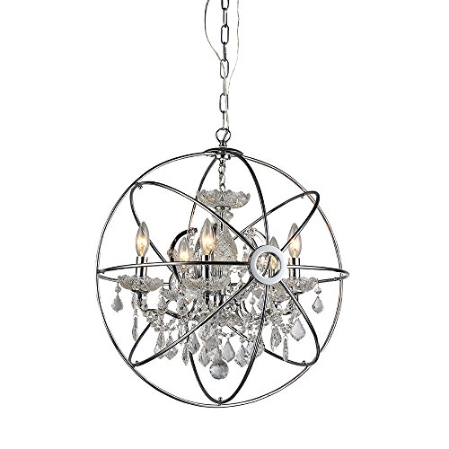 Whse of Tiffany RL6806B Saturn's Ring Chandelier ()