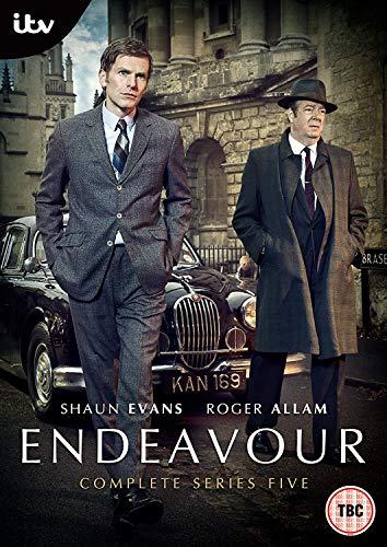 Endeavour Series 5 [DVD] [2018] [Region2] Requires a Multi Region Player