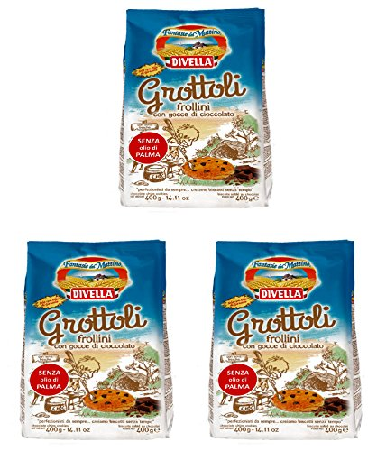 divella-grottoli-biscuits-with-drops-of-chocolate-400g-packages-pack-of-3-italian-import-