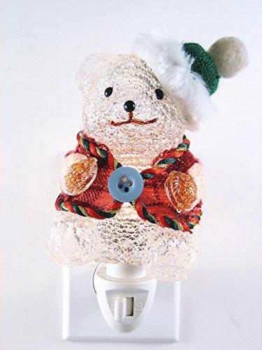 Fiberglass Snowman - Fiberglass Snowman nightlights, Night Light,Night Lamp,Decotations Night Lights By C&H