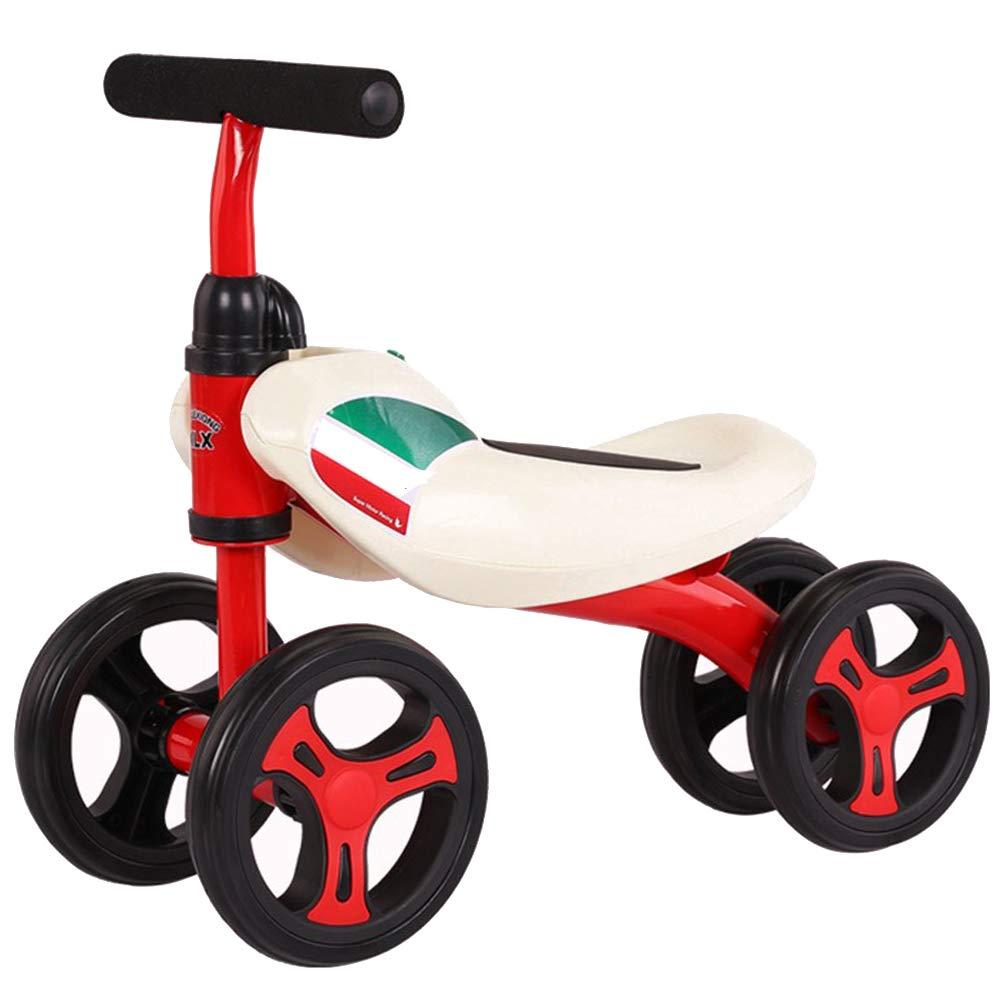 TOOSD Kinder 3-Rad Dreirad Klapppedal Fahrrad Multifunktions Kinderwagen 2-6 Jahre alt Fahrrad Baby Dreirad Roller E