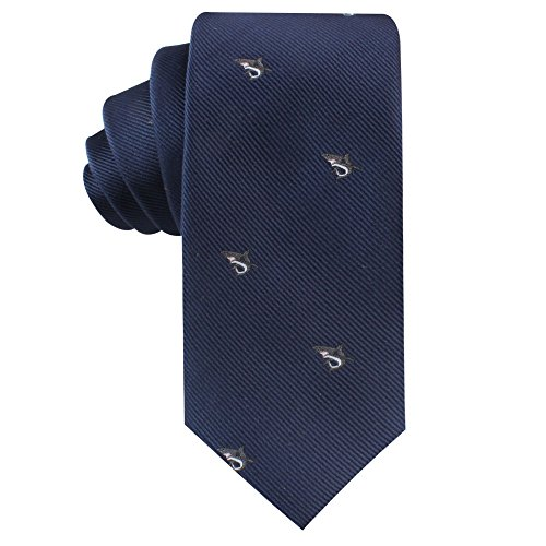 Animal Ties | Woven Neckties | Gift for Men | Work Ties for Him | Birthday Gift for Guys (Great White Shark)