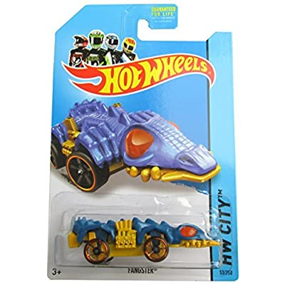 Fangster '14 Hot Wheels 53/250 (Blue) Treasure Hunt Vehicle: Toys & Games