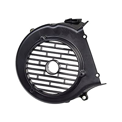 Monster Motion Black Plastic Cooling Fan Cover for 150cc GY6 Go-Kart & Scooter Engines