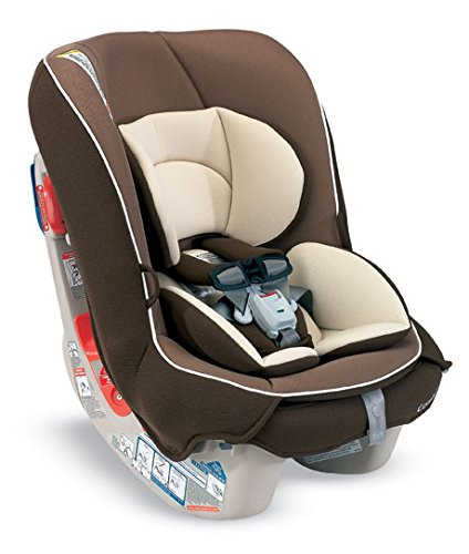 Combi Compact Convertible Car Seat Rear and Forward Facing for Baby and Toddler – Fits Three Across – Coccoro