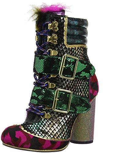 Ur Green Choice Bobs Irregular A Red Multicolore Femme Bottines Uncle gqwE1wx0