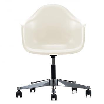 Vitra Eames Plastic Armchair Pacc Burostuhl Creme Polypropylen