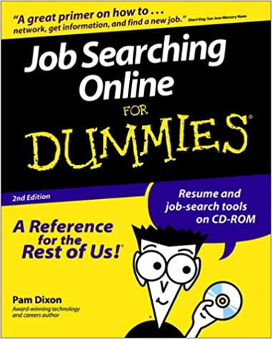 Job Searching Online For Dummies 9780764506734 Computer