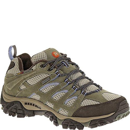 Merrell Women's Moab Waterproof Hiking Shoe,Dusty Olive,5 M US