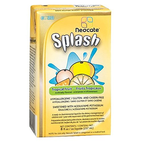 Neocate Splash Tropical Fruit 237 mL (Case of 27) ()