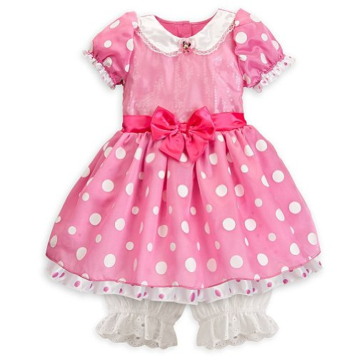 Size Costumes 24 Halloween (Disney Store Minnie Mouse Halloween Costume Size 18-24 Months: Pink Sequin)